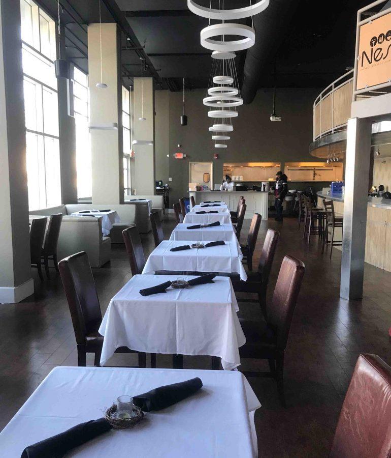 Nest Restaurant and Lounge Interior
